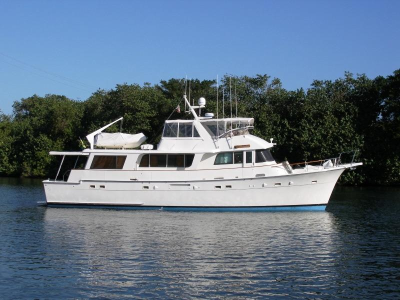 1986 Hatteras Long Range Cruiser Power Boat For Sale Www