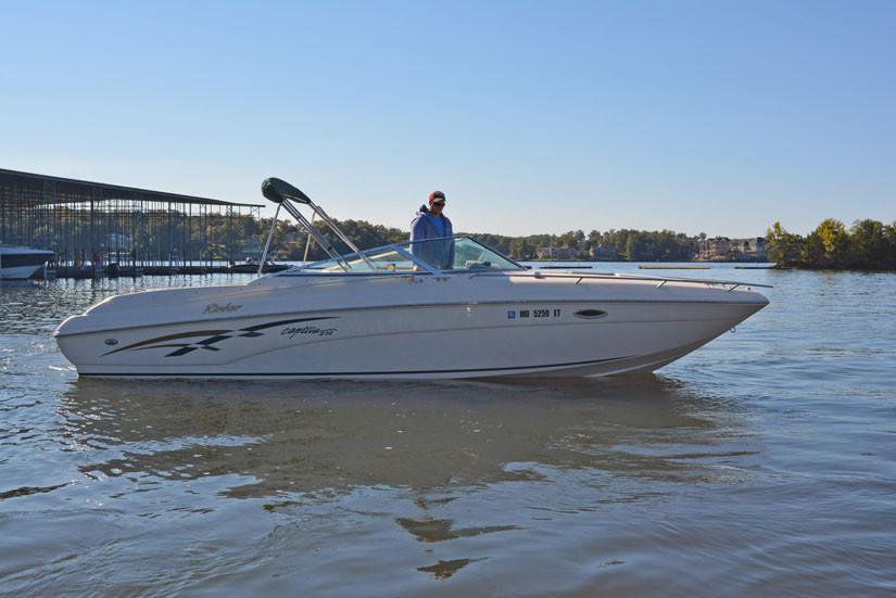 2000 Rinker 272 Captiva Cuddy Power Boat For Sale Www