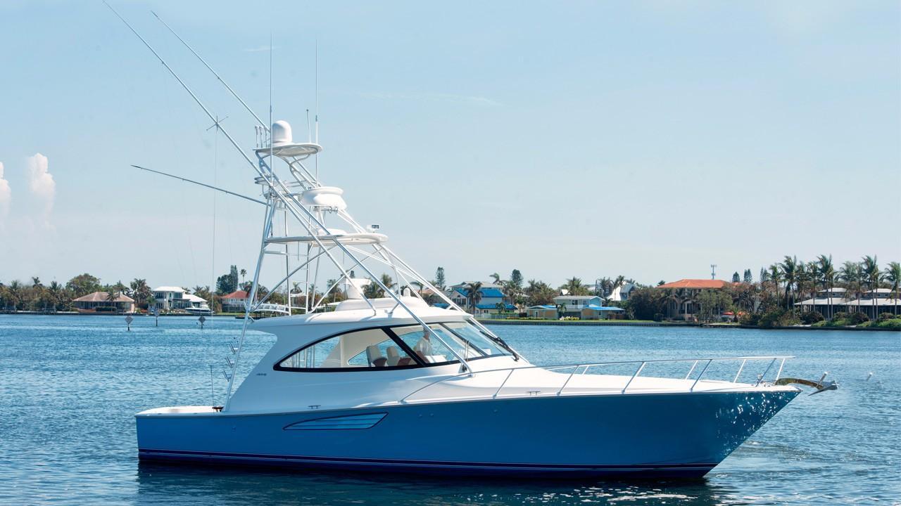 2017 Viking 48 Sport Tower Power Boat For Sale Www