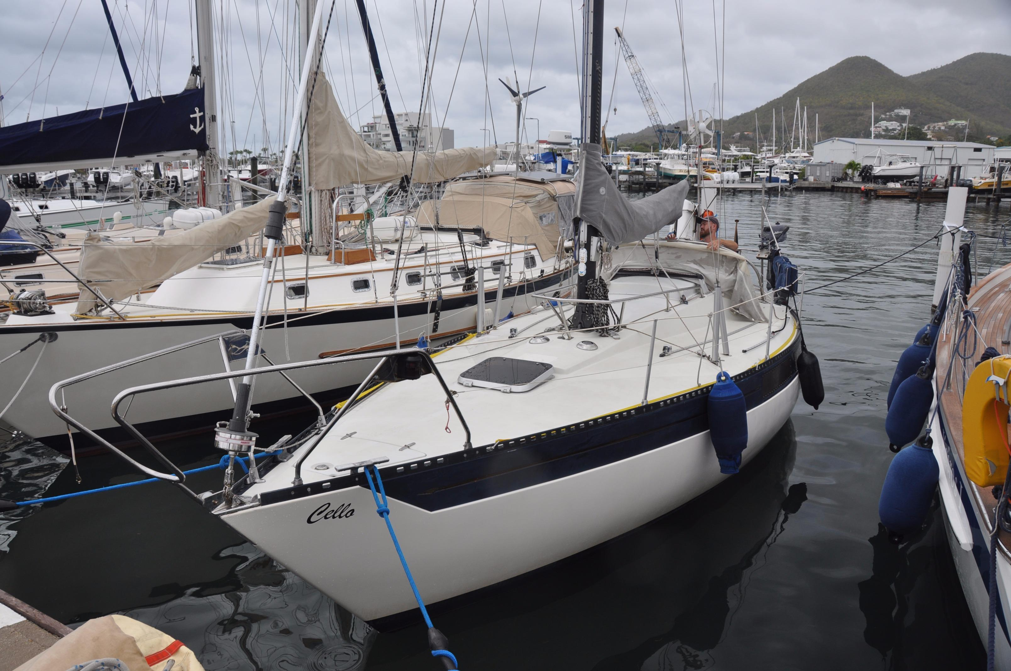 1977 Fiskars Kings Cruiser 33 Sail Boat For Sale Www