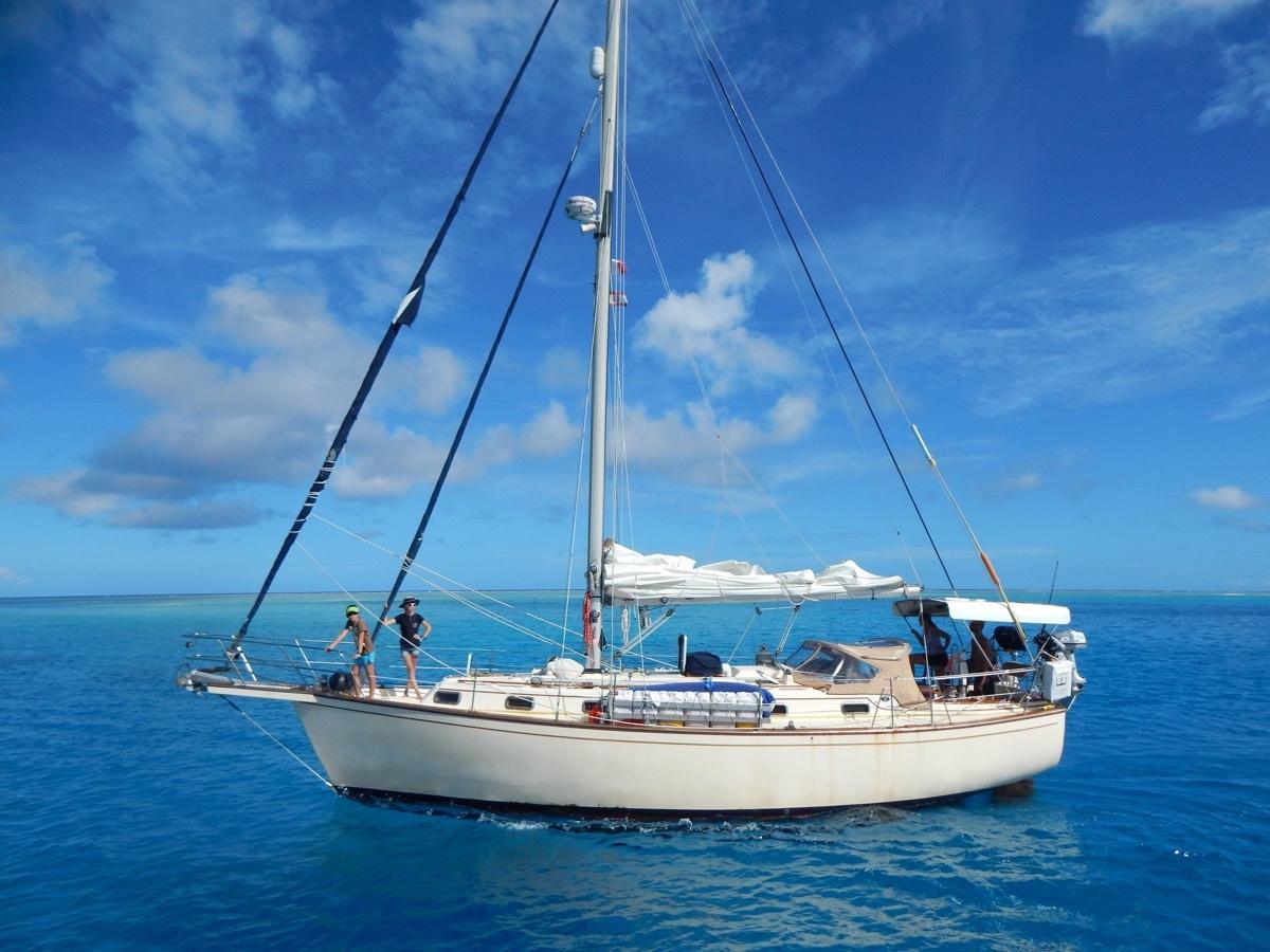 1990 Island Packet 38 Sail Boat For Sale Wwwyachtworldcom