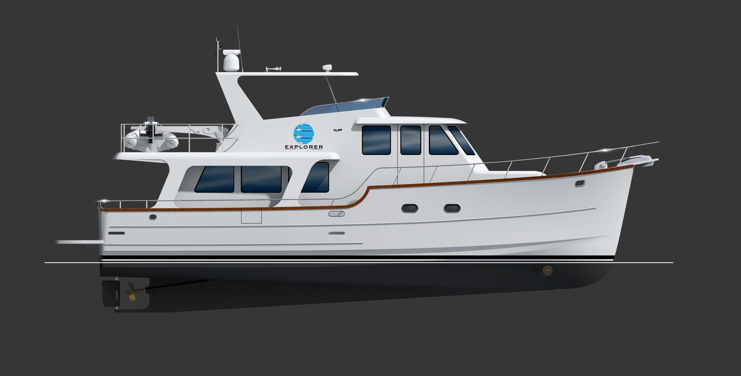 2018 Explorer Motor Yachts Pilothouse Power Boat For Sale Wwwyachtworldcom