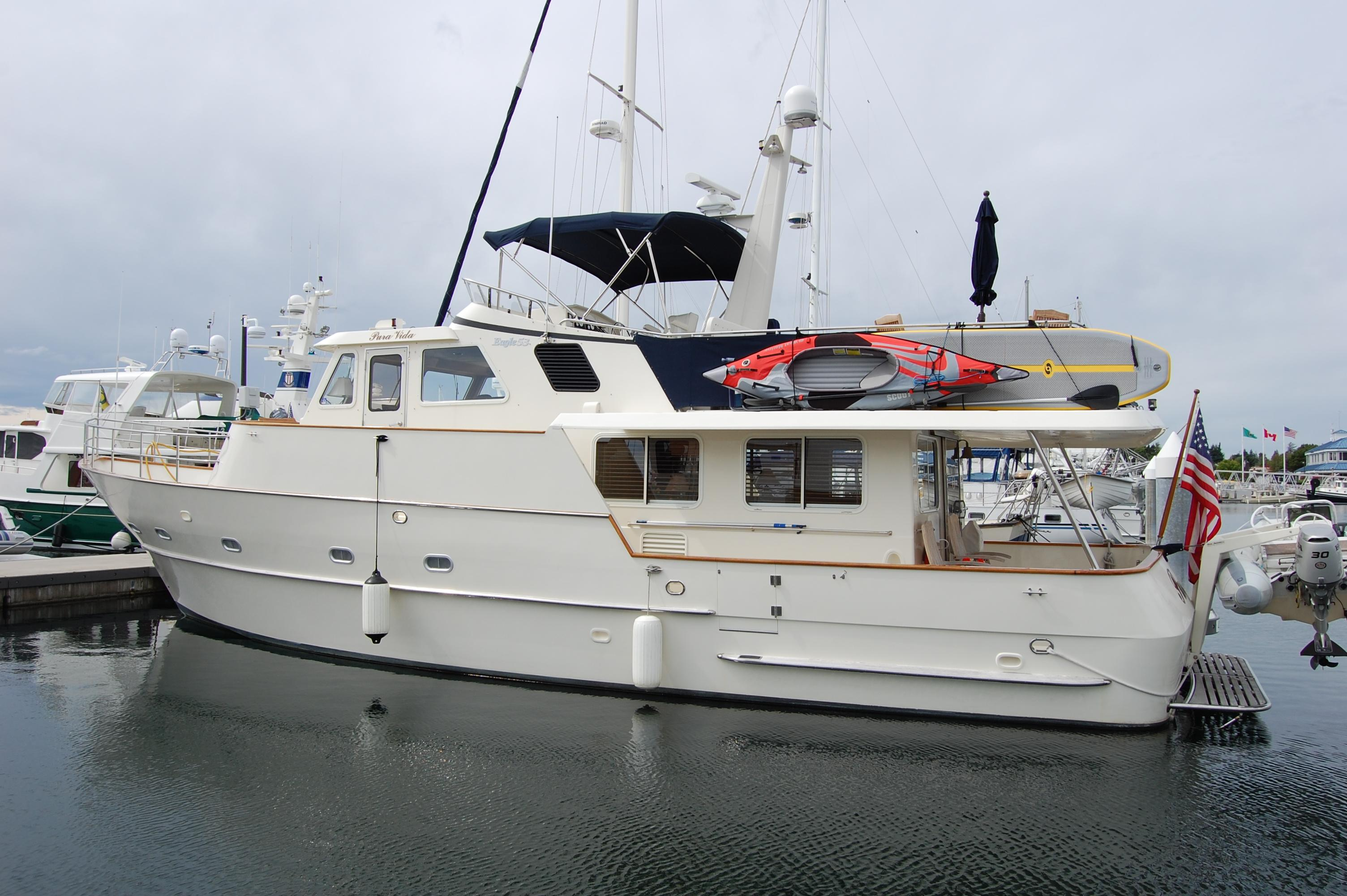 2002 Eagle Pilothouse Power Boat For Sale Wwwyachtworldcom