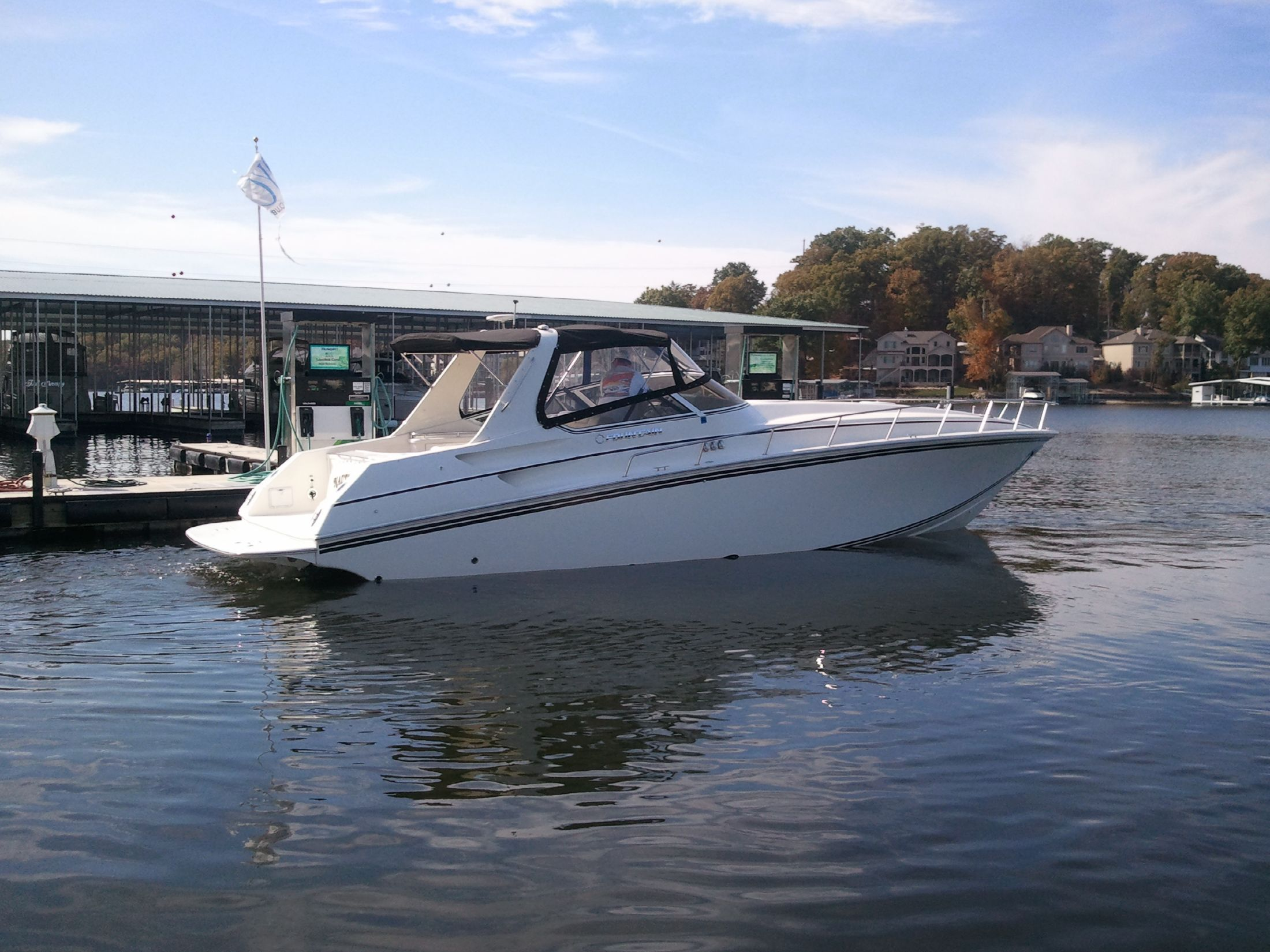 2007 Fountain 38 Express Cruiser Power Boat For Sale Www