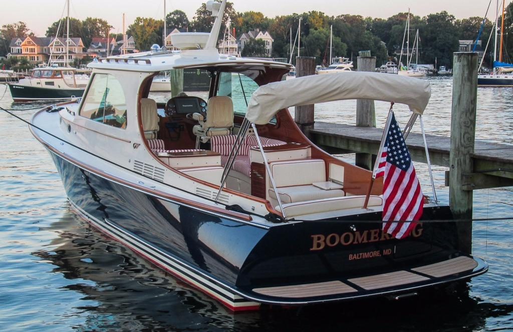 2010 Hinckley Picnic Boat MKIII Power Boat For Sale Www
