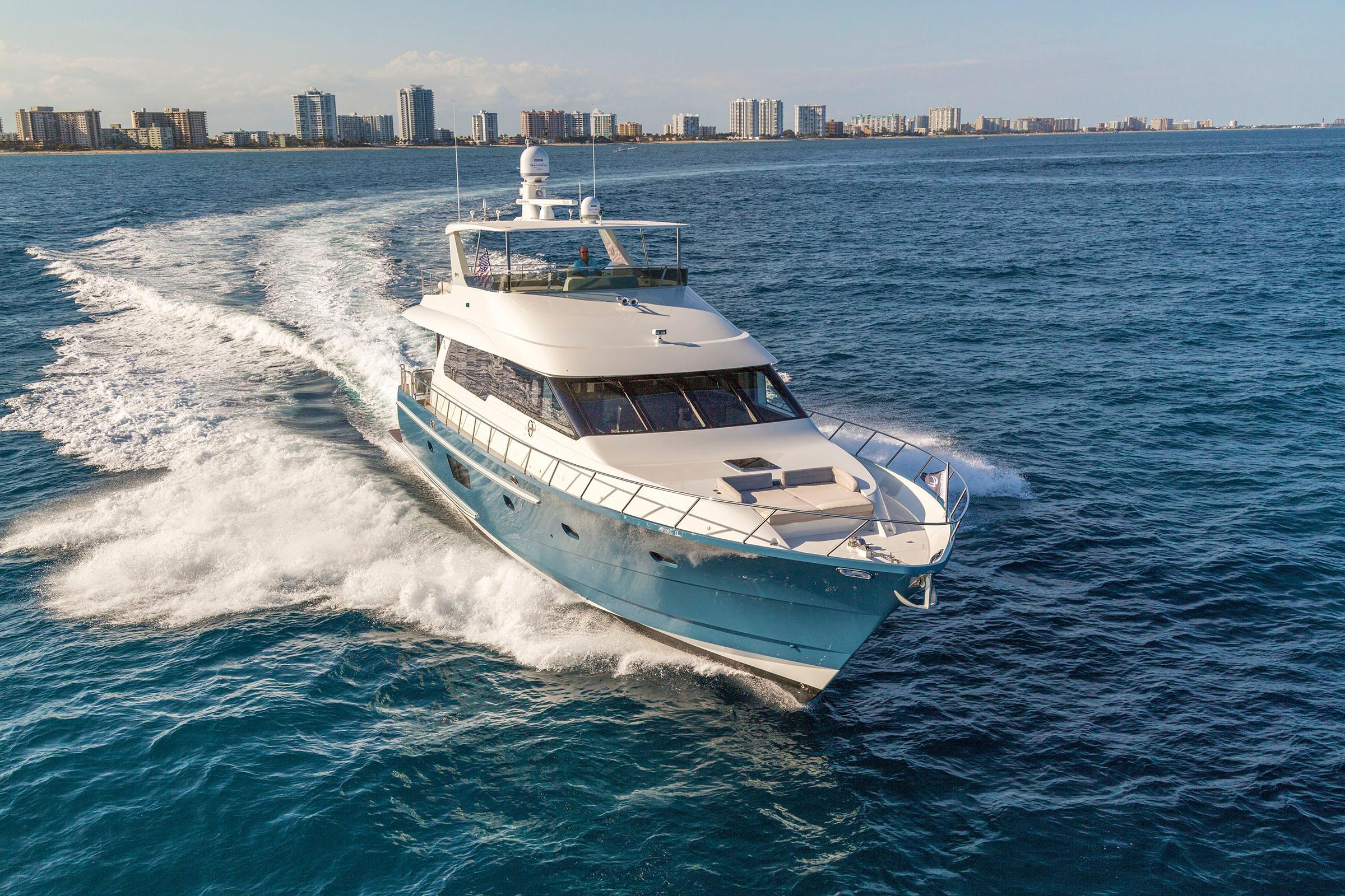 2017 Cheoy Lee Bravo 72 Power Boat For Sale Wwwyachtworldcom