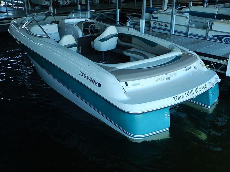 1997 Four Winns 240 Horizon Power Boat For Sale Www