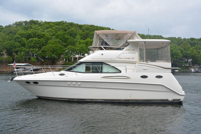 1998 Sea Ray 370 Aft Cabin Power Boat For Sale Www