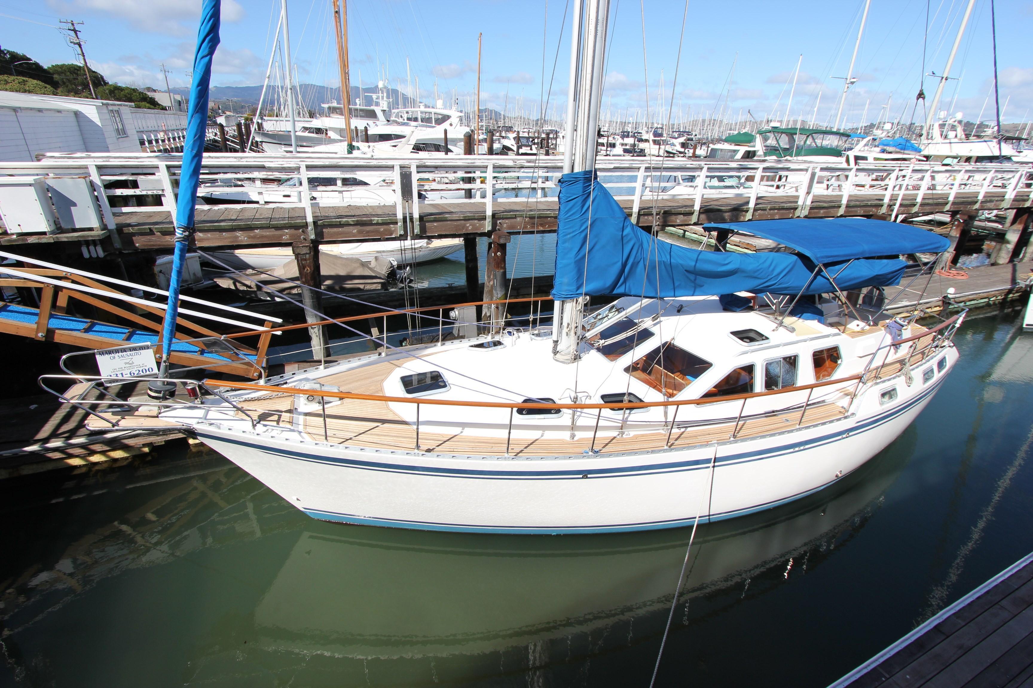 1995 Nauticat 42 Pilothouse Motor Sailer Sail Boat For