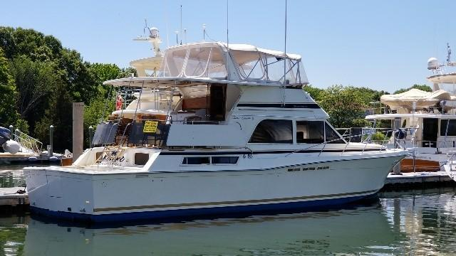 1986 Chris Craft Corinthian 480 Power Boat For Sale Www