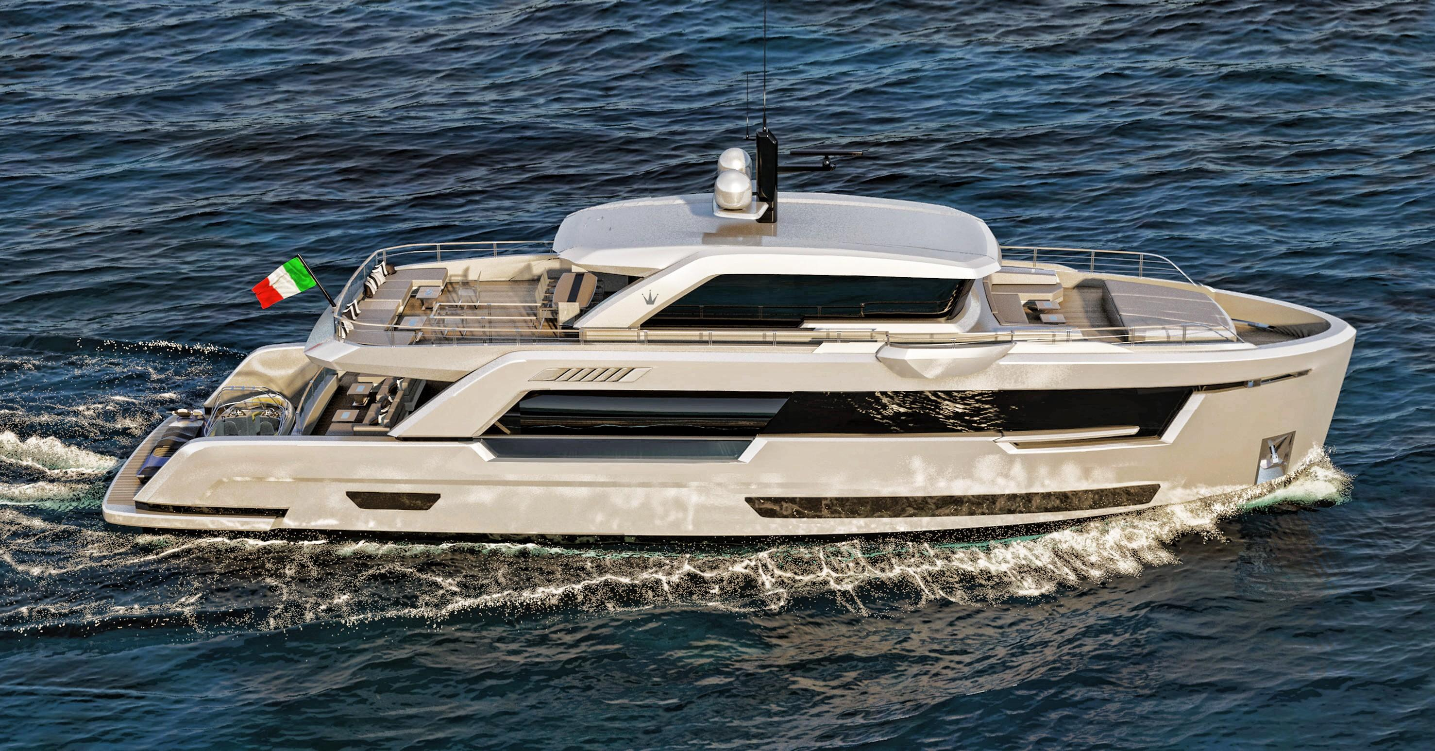 2019 Ocean King Ducale 88 Power New And Used Boats For Sale