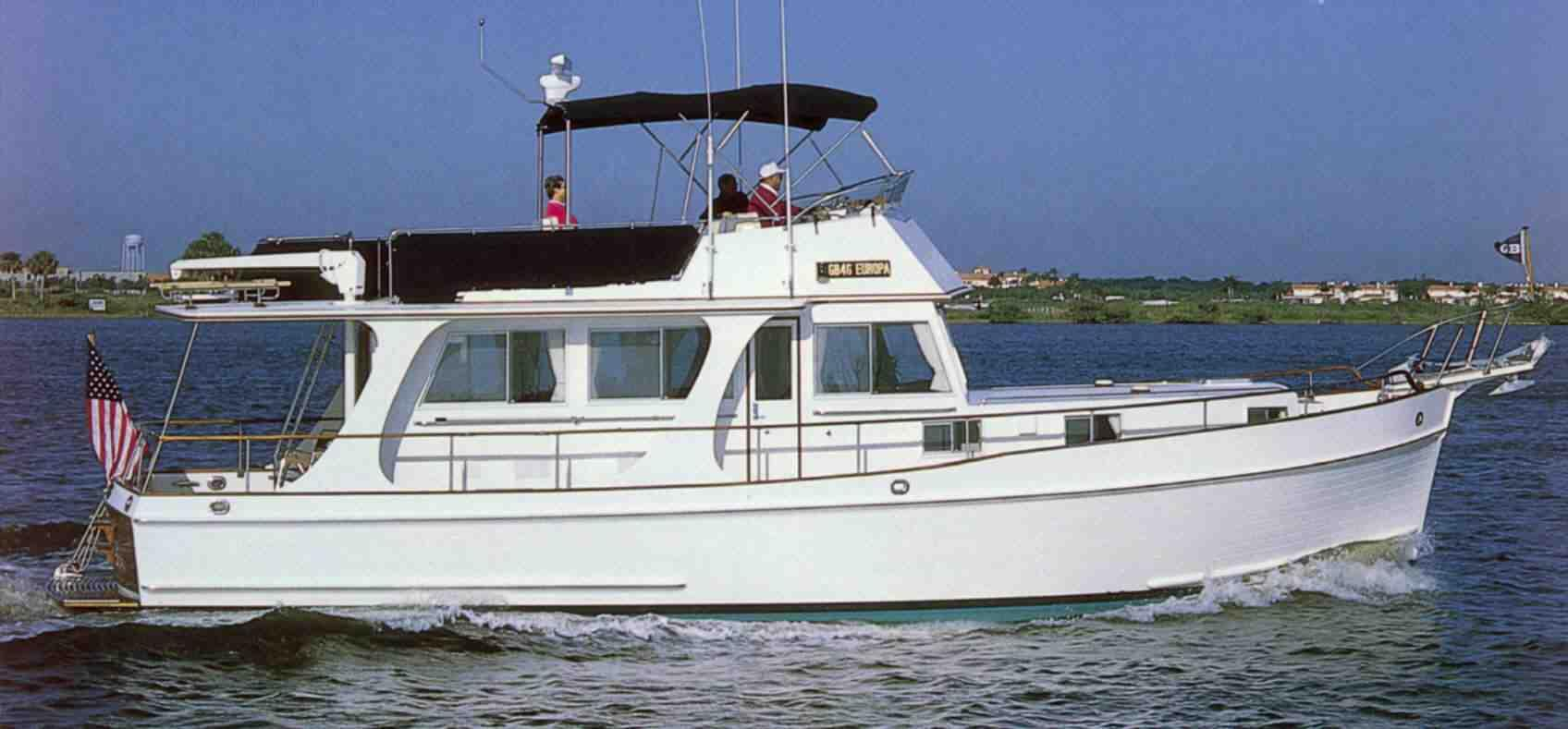1997 Grand Banks 46 Europa Power Boat For Sale Www