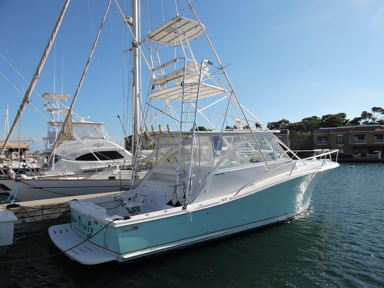 2007 Luhrs 41 Open Power Boat For Sale Wwwyachtworldcom
