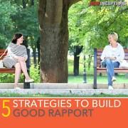 good rapport