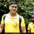 MS Dhoni, Other CSK Stars All Smiles As They Prepare To Leave For UAE | Cricket News