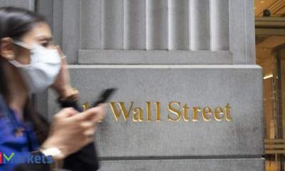 Wall Street skids after Trump's positive Covid-19 test