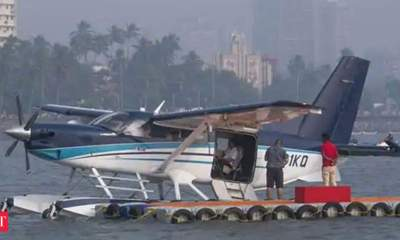 Ahmedabad-Kevadia seaplane service suspended for around 3 weeks for maintenance