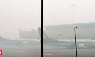 Nine flights cancelled as fog reduces visibility at Jammu airport for 2nd day