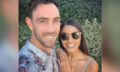 Jimmy Neesham Gatecrashes Glenn Maxwells Adorable Post With Indian-Origin Fiancee