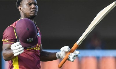 WI vs SL, 2nd ODI: Evin Lewis Hits Century As West Indies Beat Sri Lanka By Five Wickets