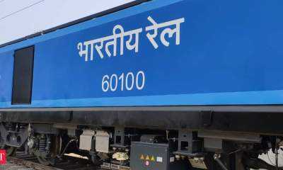 Alstom rolls out 100th e-locomotive from its Madhepura factory in Bihar