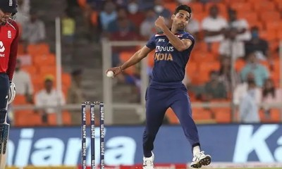 ICC Mens Player Of The Month: Bhuvneshwar Kumar Nominated For His Heroics Against England