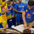 IPL 2021: How Chennai Super Kings Celebrated MS Dhonis 200th Match For CSK. Watch