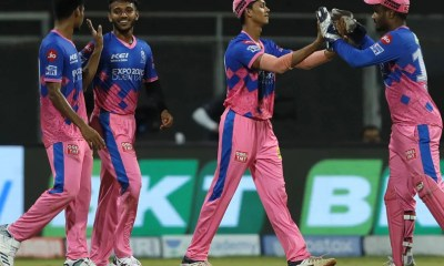 IPL 2021, RR vs KKR: Rajasthan Royal Tease KKR After Win With Iconic Shah Rukh Khan Pose. Watch