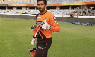 COVID-19: Wriddhiman Saha Reunites With Family After Recovering From Coronavirus. See Pic   Cricket News