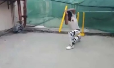 Watch: Young Boy Can Play Every Shot In The Book With Just One Stump, Twitter Is Spellbound