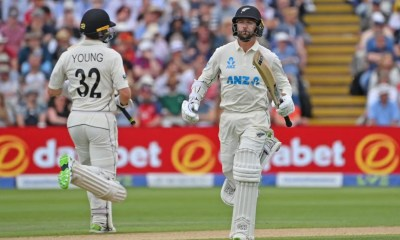ENG vs NZ, 2nd Test: Will Young, Devon Conway Star For New Zealand On Day 2 | Cricket News