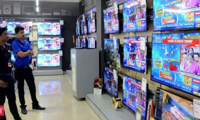 India's TV shipments hit three million sets in January-March quarter