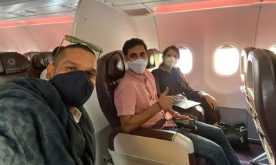 Sri Lanka vs India 2021: Shikhar Dhawan, Bhuvneshwar Kumar Reach Mumbai To Join Bio-Bubble Ahead Of Tour
