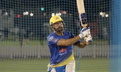 Watch: MS Dhoni Sends Warning With Explosive Hitting In Chennai Super Kings Practice Match