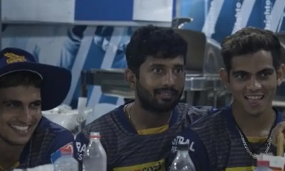 """Watch: KKRs Dressing Room Scenes After """"Emphatic Win"""" Over RCB In Abu Dhabi"""