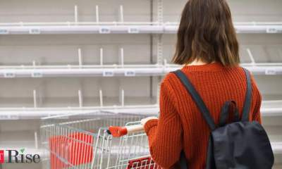 The return of empty shelves and panic buying