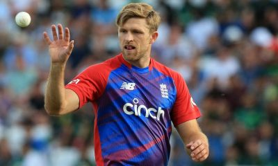 David Willey Determined To Enjoy England Return At T20 World Cup