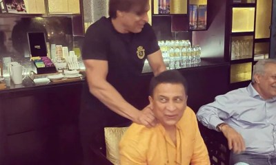"""""""Chilling With The Best"""": Shoaib Akhtar Shares Pics With Sunil Gavaskar, Kapil Dev Ahead of T20 World Cup"""