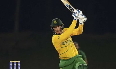 Watch: South Africas Rassie Van Der Dussen Seals Win vs Pakistan And Reaches Hundred With A Boundary On Last Ball