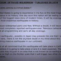 David Wilkerson And The Japan Earth Quake