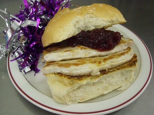 Celebrating Christmas 2017: Festive Turkey Steak Burger