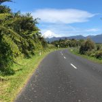 New Zealand road with no shoulder