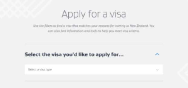 new zealand apply for a visa