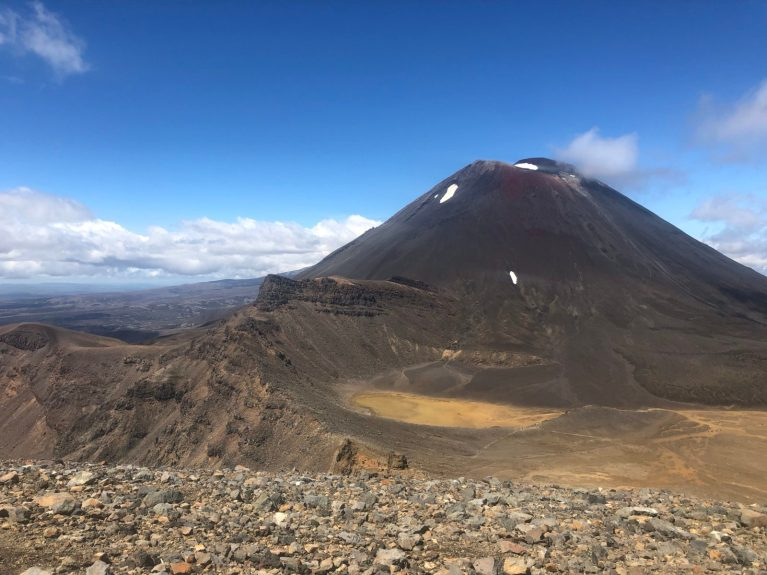 you cannot hike up mount doom