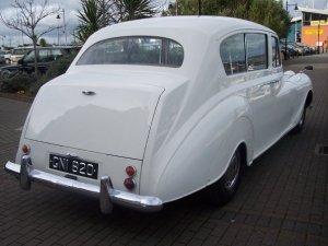 Austin Vandenplas Princess Limousine looks fantastic after its restoration by Dublins finest Car restorers in baldoyle