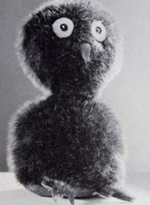 NAIT's original Ookpik donated in 1964 (CBC News).