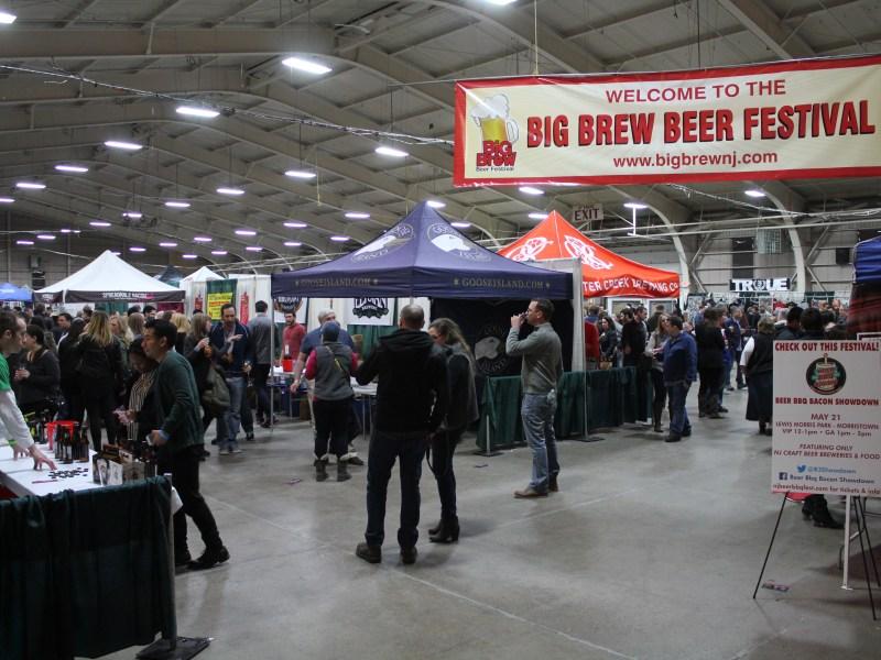 Big Brew Beer Festival - Sign