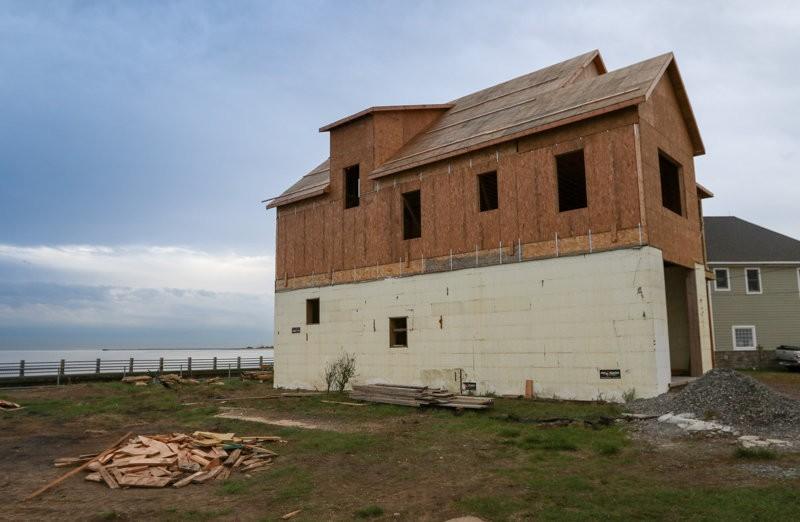 Rebuilding home after Sandy