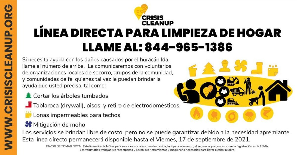 Crisis Cleanup Spanish