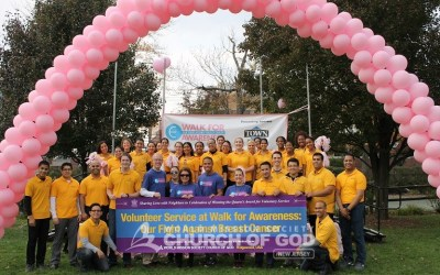 2016 Walk for Awareness Volunteer Service at Englewood Hospital
